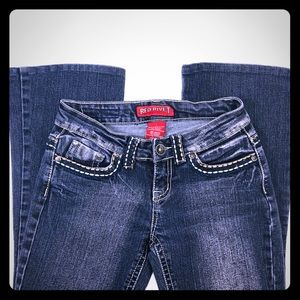 RED RIVET Bootcut Jeans Jr's 1